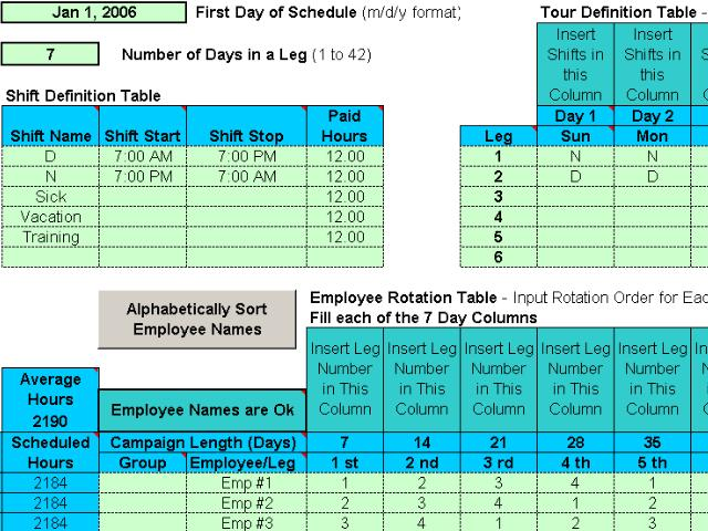 Free Download Of Schedule Crew Assignments For Your Employees At
